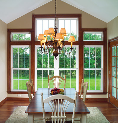 double hung and architectural windows